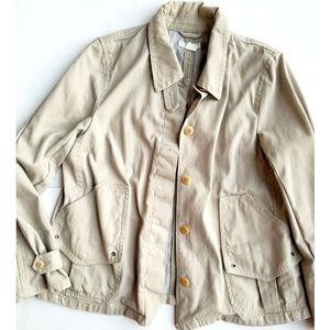 J. Crew Cotton Utility Jacket